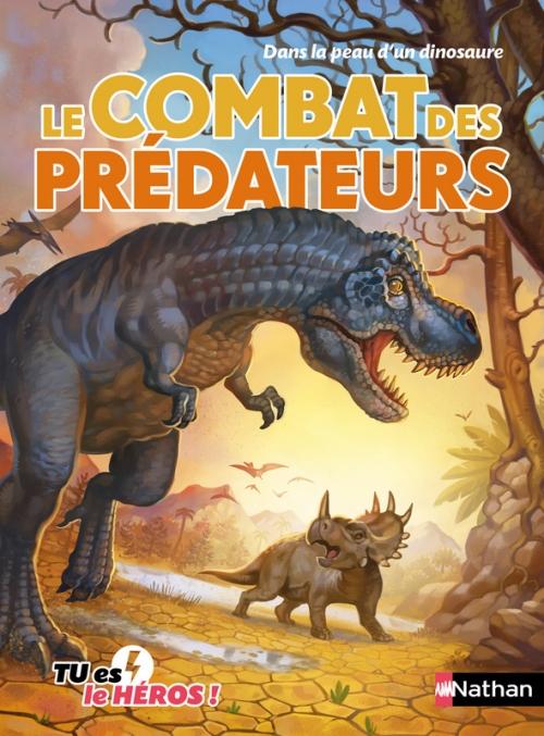Couverture Le combat des prédateurs