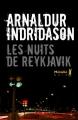Couverture Les nuits de Reykjavik Editions Métailié (Noir) 2015