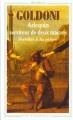 Couverture Arlequin, serviteur de deux maîtres Editions Flammarion (GF - Bilingue) 1996
