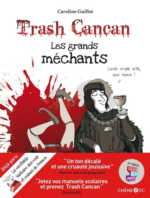 Couverture Trash cancan, tome 3 : Les grands méchants
