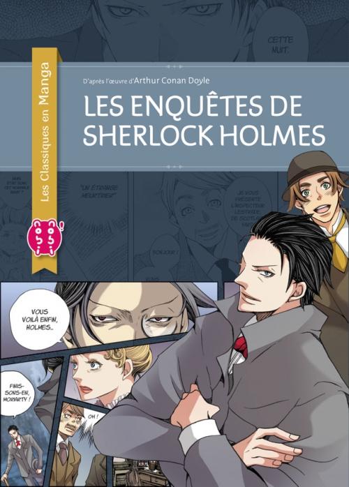Couverture Les enquêtes de Sherlock Holmes (manga)