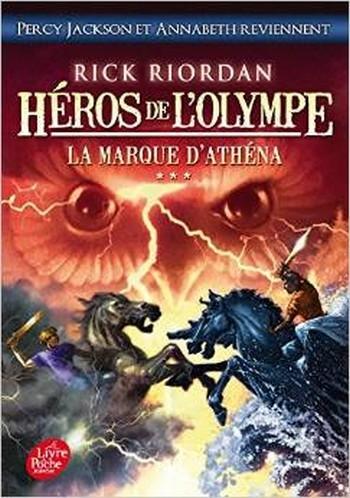 Couverture Héros de l'Olympe, tome 3 : La Marque d'Athéna