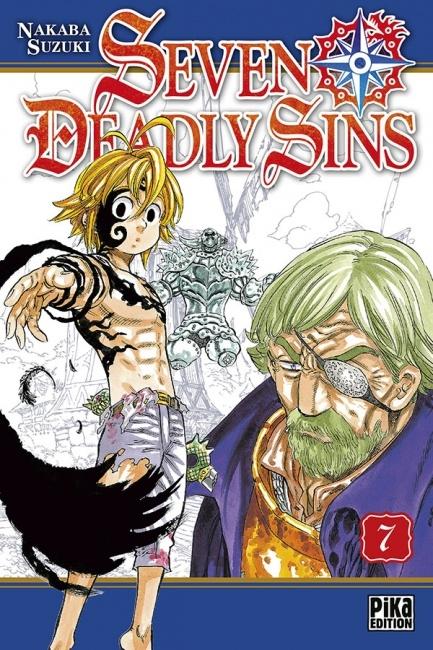 Couverture Seven Deadly Sins, tome 07