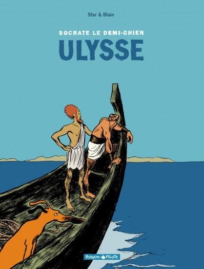Couverture Socrate le demi-chien, tome 2 : Ulysse