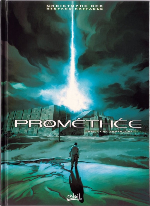 Couverture Prométhée, tome 8 : Necromanteion