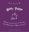 Couverture Harry Potter : Manuel non officiel de cuisine pour sorciers et non magiciens Editions Averbode 2014