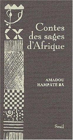 Couverture Contes des sages d'Afrique