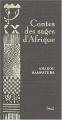 Couverture Contes des sages d'Afrique Editions Seuil (Contes des sages) 2004