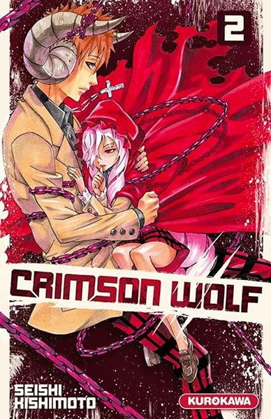 Couverture Crimson wolf, tome 2