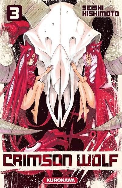 Couverture Crimson wolf, tome 3