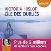 Couverture L'Ile des oubliés Editions Audiolib 2013