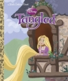 Couverture Tangled Editions Golden Books 2010