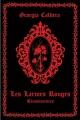 Couverture Les larmes rouges, tome 1 : Réminiscences Editions du Chat Noir (Panthera) 2015