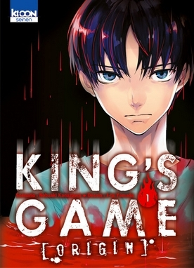 Couverture King's Game Origin, tome 1