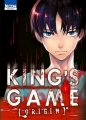 Couverture King's Game Origin, tome 1 Editions Ki-oon (Seinen) 2015