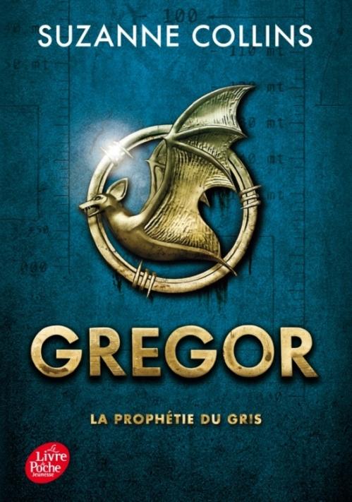 Couverture Gregor, tome 1 : La prophétie du Gris