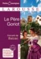 Couverture Le Père Goriot Editions Larousse (Petits classiques) 2012