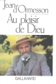 Couverture Au plaisir de dieu Editions Gallimard  1974