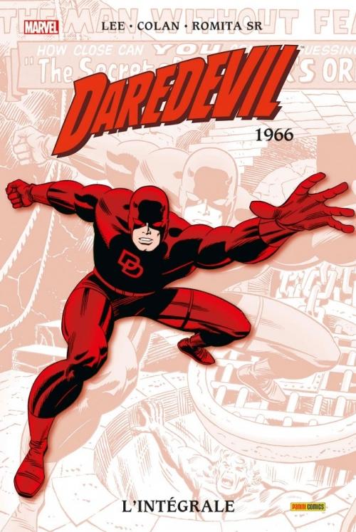 Couverture Daredevil, intégrale, tome 02 : 1966