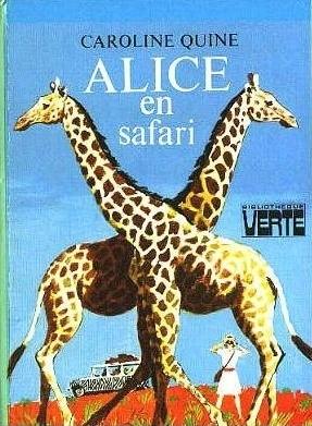 Couverture Alice en safari
