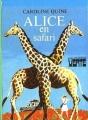 Couverture Alice en safari Editions Hachette (Bibliothèque verte) 1971