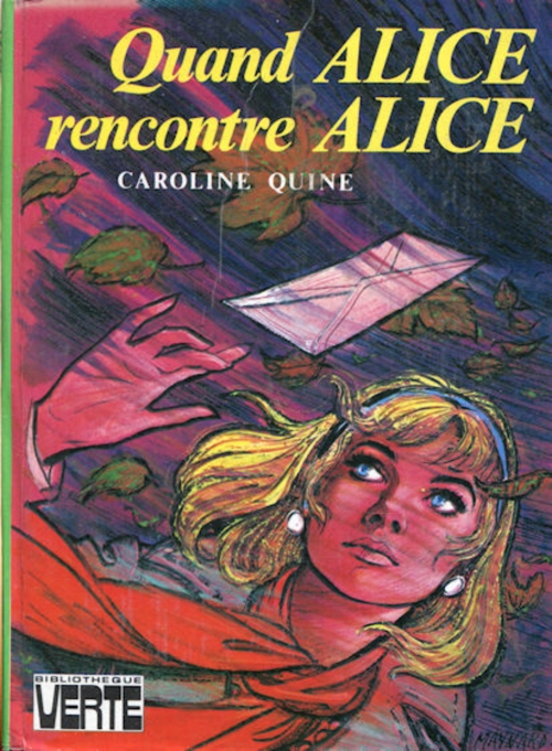 Couverture Quand Alice rencontre Alice