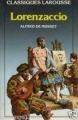 Couverture Lorenzaccio Editions Larousse (Classiques) 1987