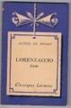 Couverture Lorenzaccio Editions Larousse (Classiques) 1936