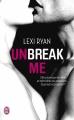 Couverture Unbreak me, tome 1 Editions J'ai Lu 2015