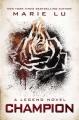 Couverture Legend, tome 3 : Champion Editions Putnam 2013