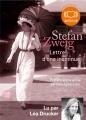 Couverture Lettre d'une inconnue Editions Audiolib 2009
