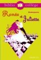 Couverture Roméo et Juliette Editions Hachette (Biblio collège) 2008