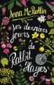 Couverture Les derniers jours de Rabbit Hayes Editions Cherche Midi 2016