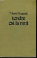 Couverture Tendre est la nuit  Editions Stock 1967