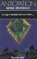 Couverture Ce qui mordait le ciel... Editions Fleuve (Noir - Anticipation) 1984