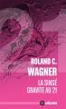 Couverture La Sinsé gravite au 21 Editions ActuSF (Hélios) 2014