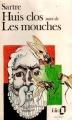 Couverture Huis clos suivi de Les mouches Editions Folio  1988