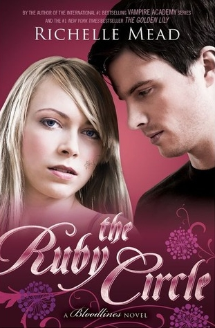 Couverture Bloodlines, book 6 : The Ruby Circle