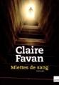 Couverture Miettes de sang Editions du Toucan (Noir) 2015