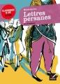 Couverture Lettres persanes Editions Hatier (Classiques & cie - Lycée) 2013