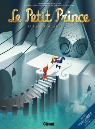 Couverture Le Petit Prince (BD), tome 03 : La planète de la Musique