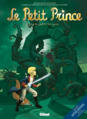 Couverture Le Petit Prince (BD), tome 04 : La planète de jade