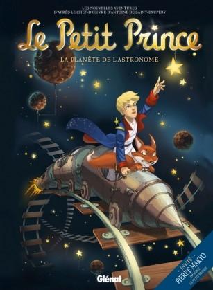 Couverture Le Petit Prince (BD), tome 05 : La planète de l'Astronome