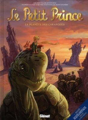 Couverture Le Petit Prince (BD), tome 08 : La planète des Caropodes