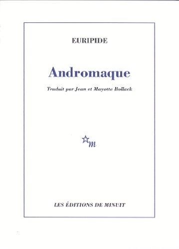 Couverture Andromaque