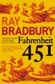 Couverture Fahrenheit 451 Editions HarperVoyager 2013