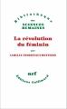 Couverture La révolution du féminin Editions Gallimard  (Bibliothèque des sciences humaines) 2015