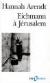 Couverture Eichmann à Jérusalem Editions Folio  (Histoire) 1991