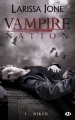 Couverture Vampire Nation, tome 1 : Riker Editions Milady 2015