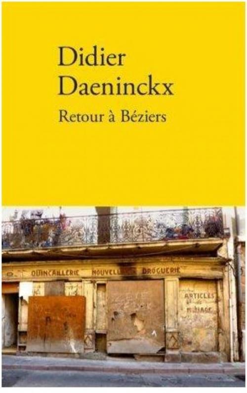 Couverture Retour à Béziers